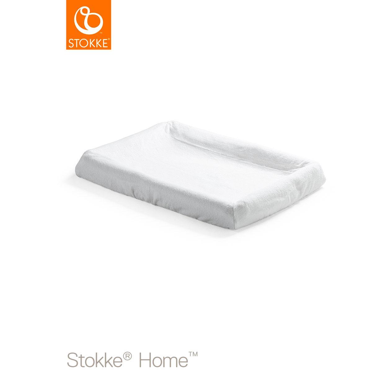 Funda colchón cambiador HOME Stokke blanco