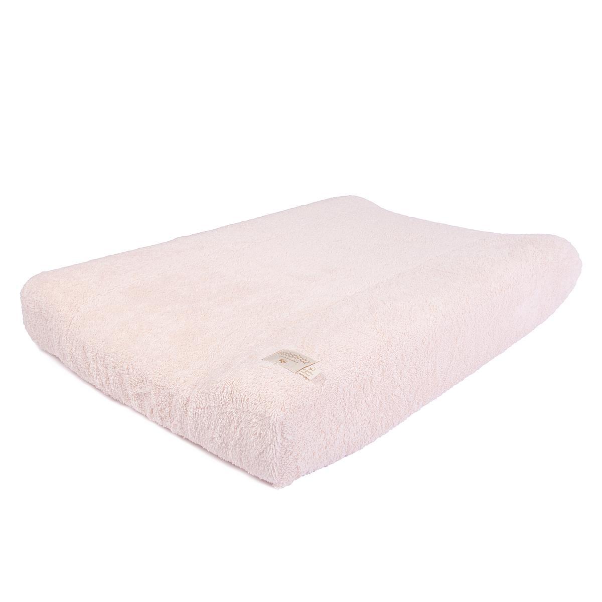 Funda colchón cambiador  SO CUTE Nobodinoz rosa