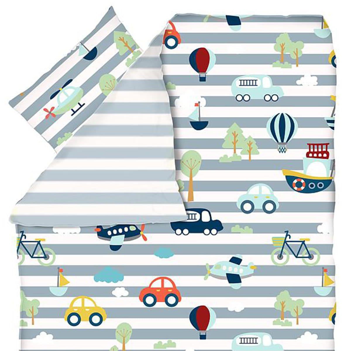Funda nórdica 140x200 funda cojín 60x63 TRANSPORTE Flexa