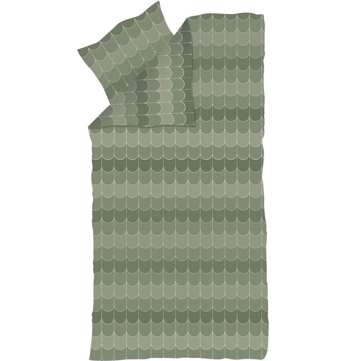 Funda nórdica 140x200cm-almohada 60x63cm POPSICLE Flexa kiwi