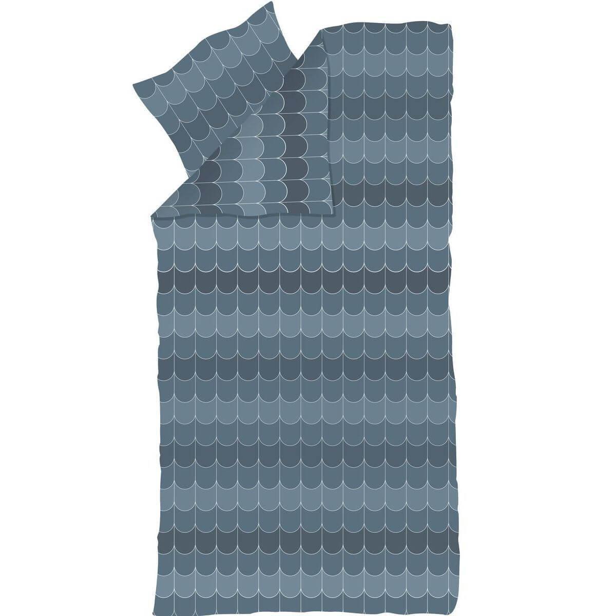Funda nórdica 140x200cm-almohada 80x80cm POPSICLE Flexa blueberry