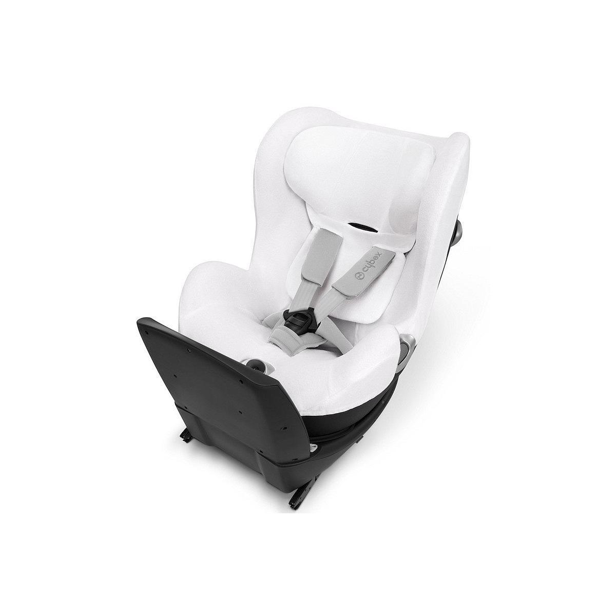 Funda verano silla auto SIRONA Q I-SIZE Cybex white-white
