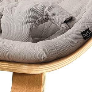 Hamaca bebé LEVO Charlie Crane haya-sweet grey