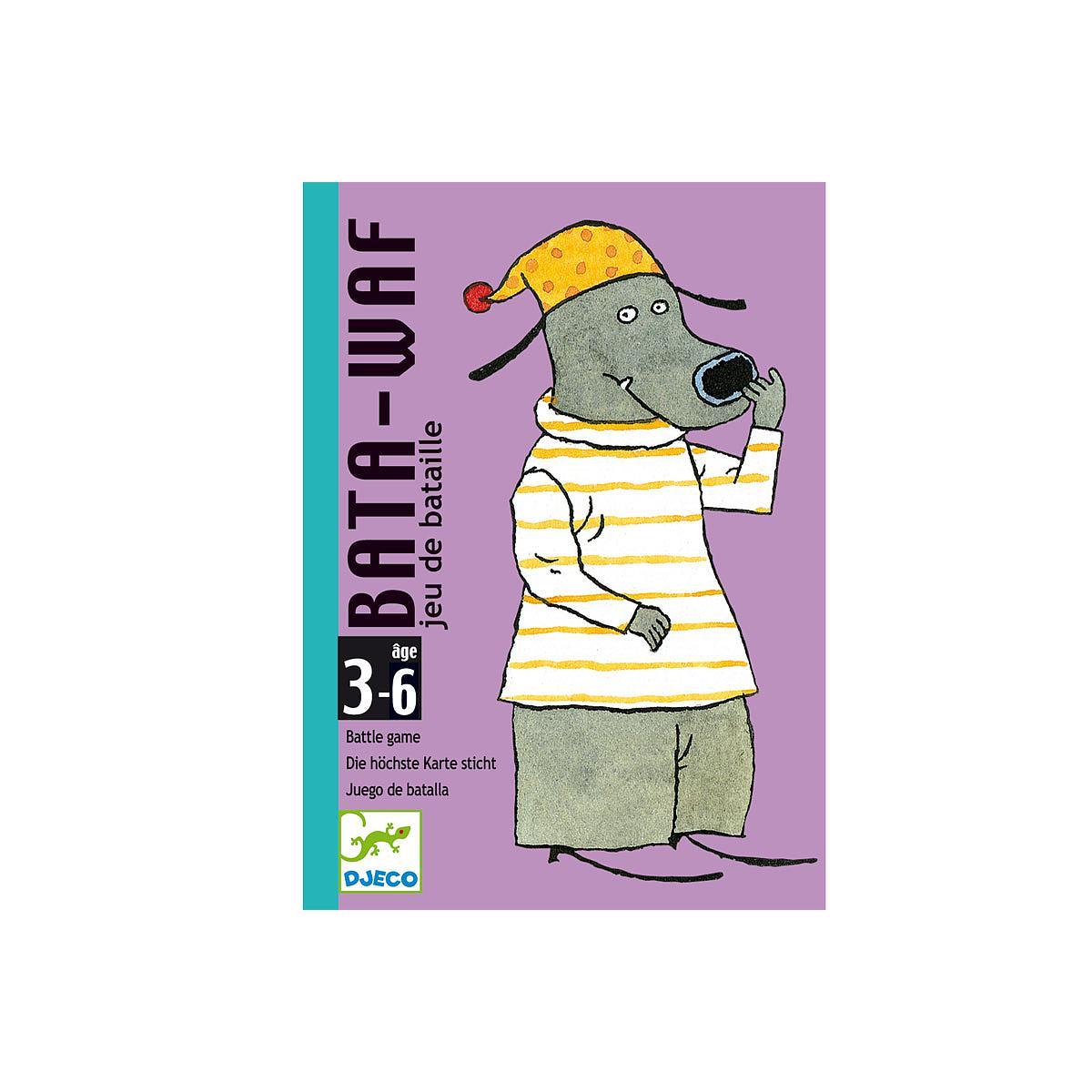Juego cartas 3-6Y BATA-WAF Djeco
