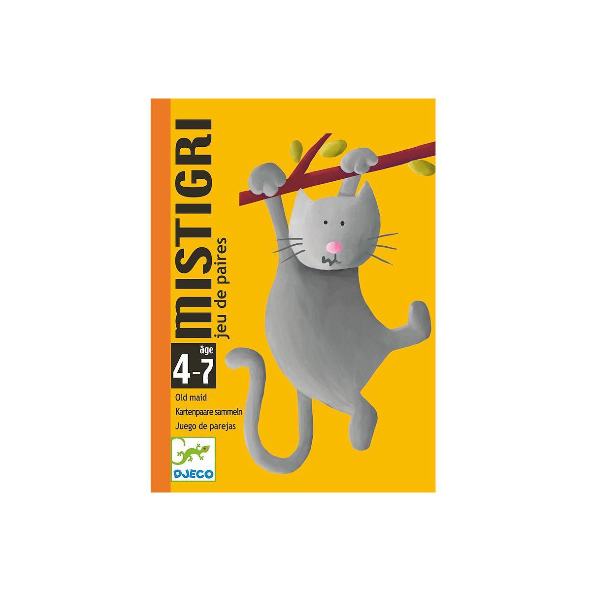 Juego cartas 4-7Y MISTIGRI Djeco