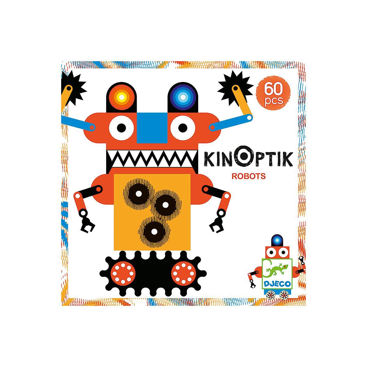f6b49e98c Juegos imaginación robots 6-10Y KINOPTIK Djeco MTODJECO