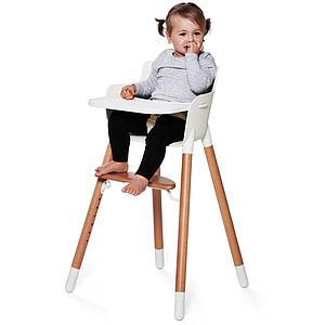 Kit cinturón seguridad Trona bebé BABY Flexa blanco