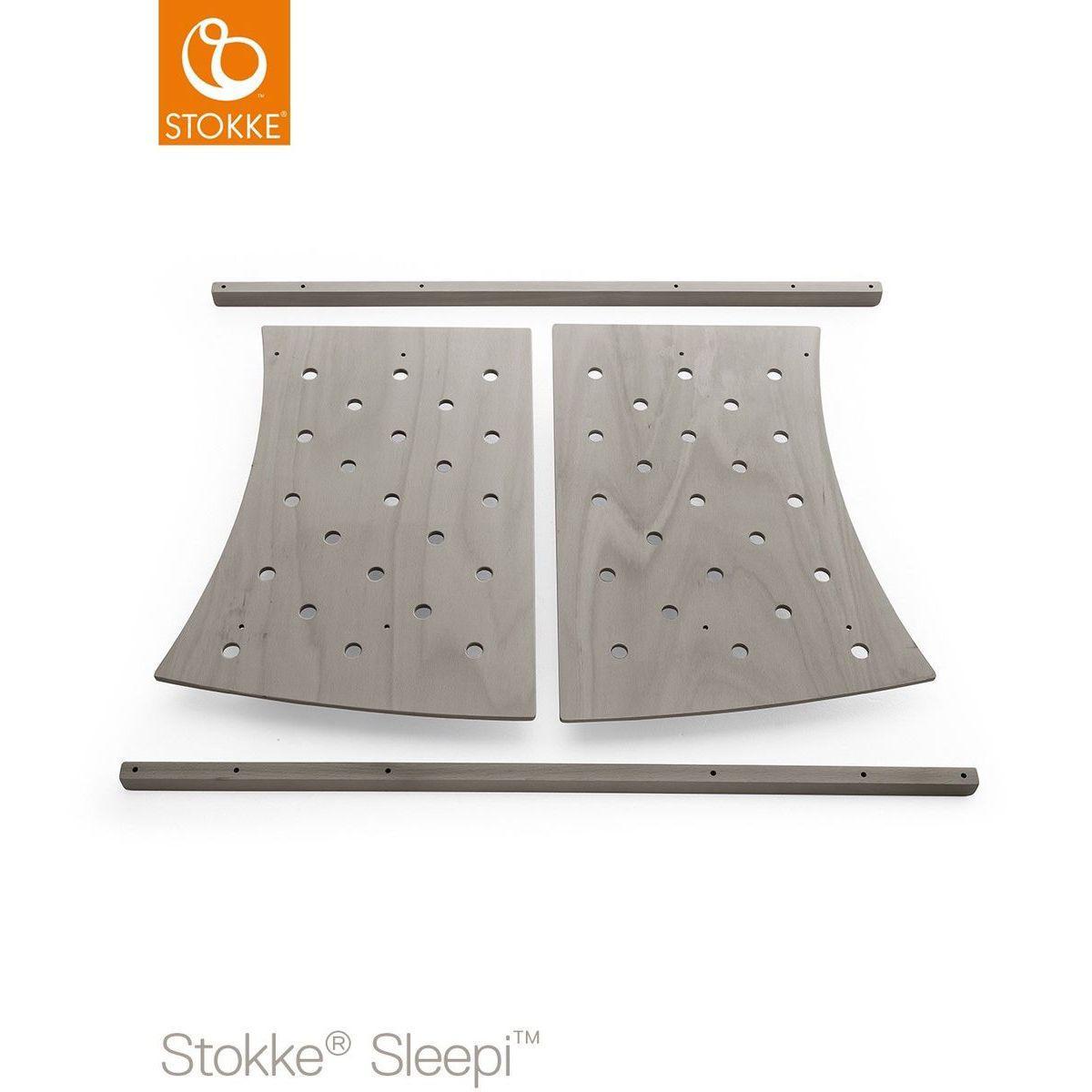 Kit extensión cama junior SLEEPI Stokke gris bruma