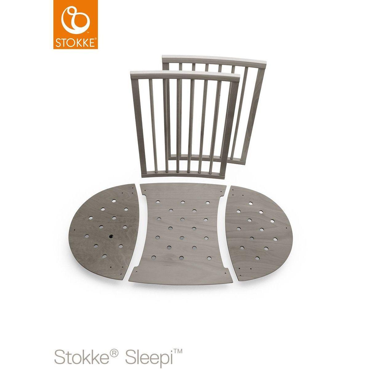 Kit extensión cuna SLEEPI Stokke gris bruma