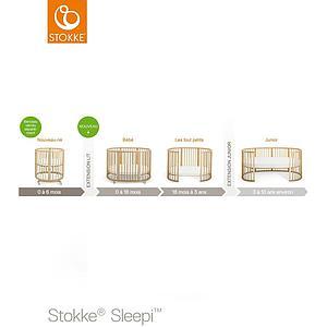 Kit extensión cuna SLEEPI Stokke natural
