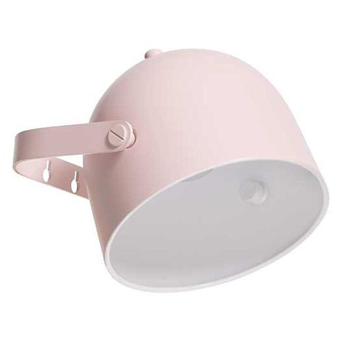 Lámpara pared MONTY Flexa rosa