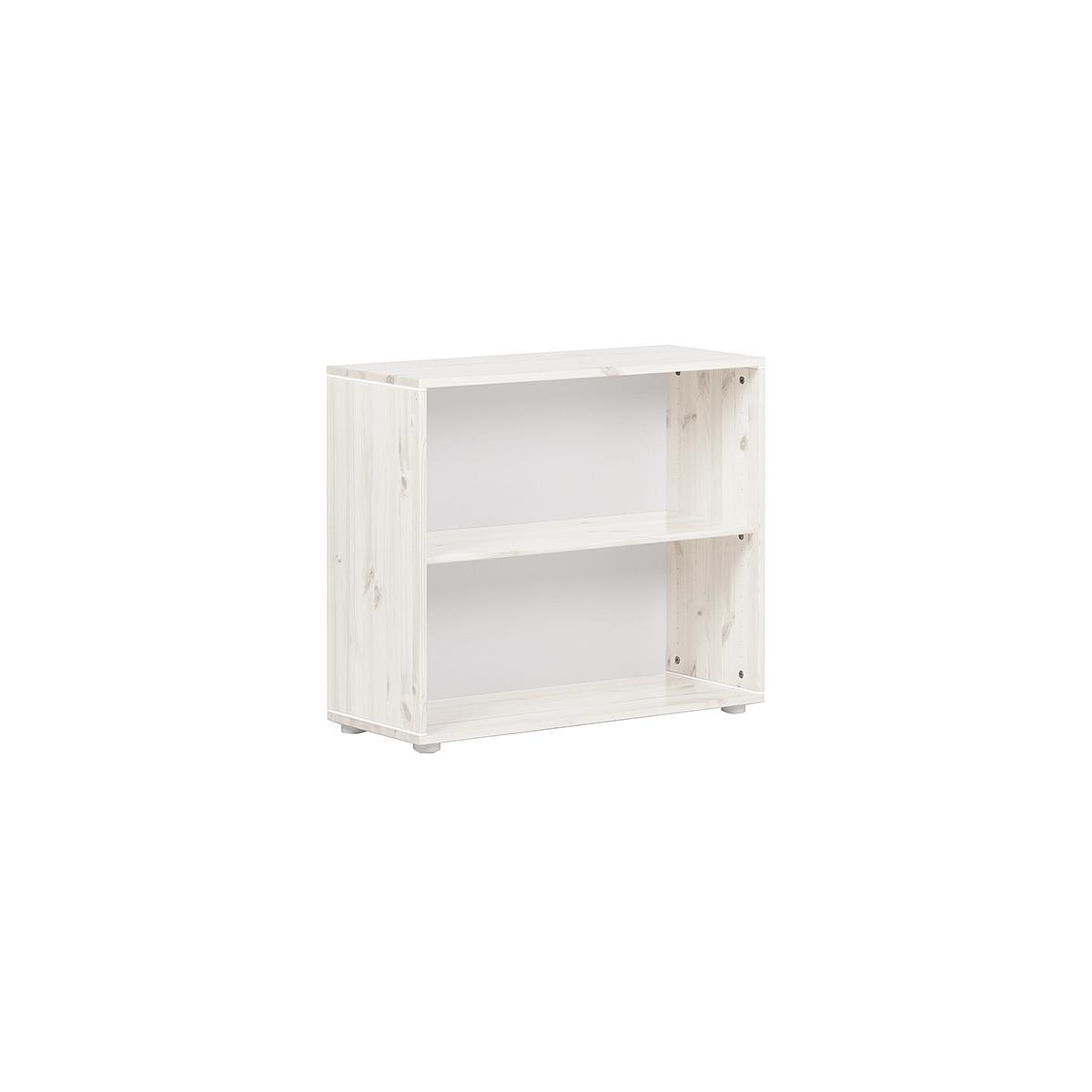 Librería infantil 1 estante NEW CLASSIC Flexa blanco cal - blanco