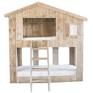 Litera cabaña 90x200cm WARCHILD Dutchwood