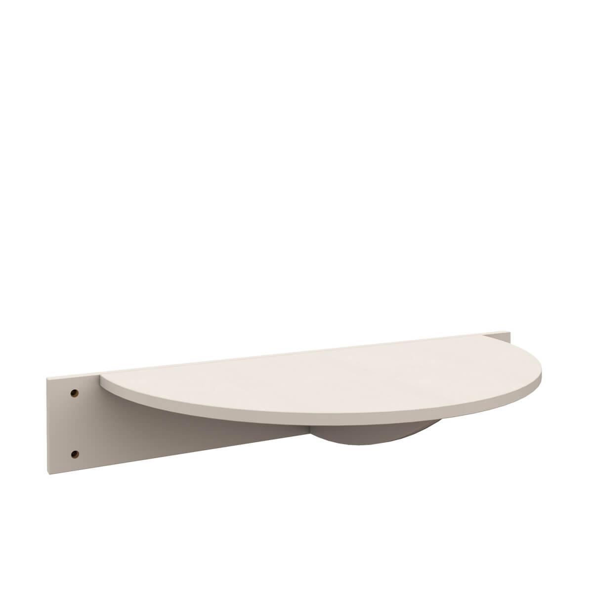 Mesita cama DESTYLE de Breuyn haya blanco