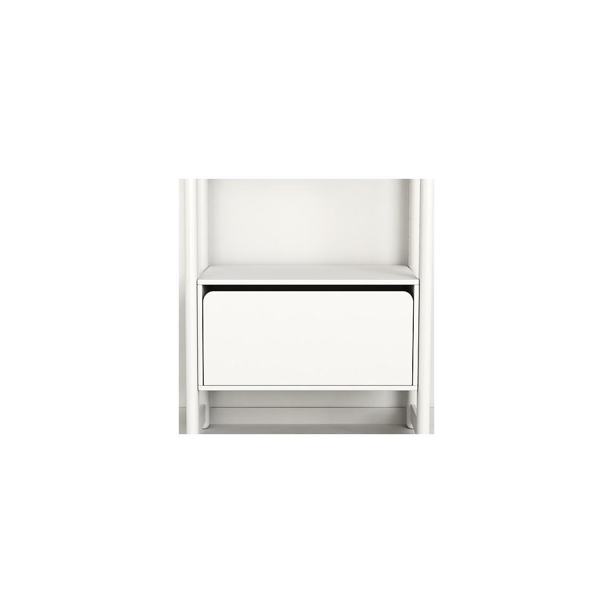 Midi B - Cajonera 131 cm SHELFIE Flexa blanco