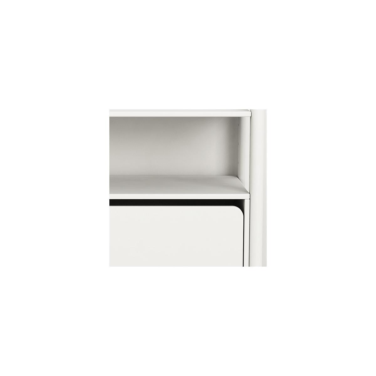 Mini B - Cajonera 74 cm SHELFIE Flexa blanco