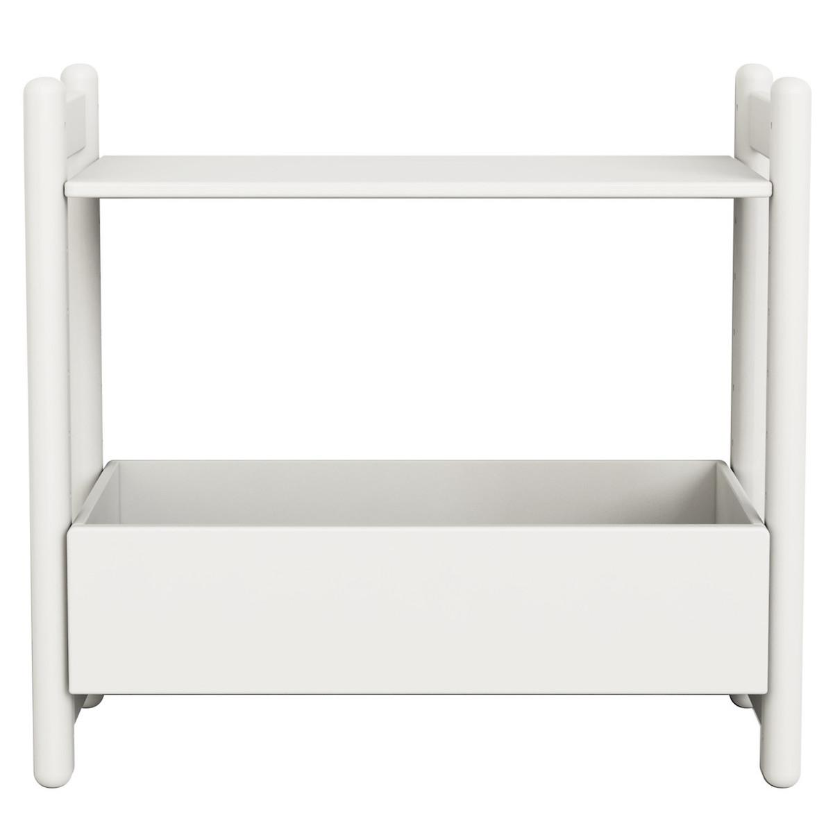 Mini D - Organizador 1 estante 74 cm SHELFIE Flexa blanco