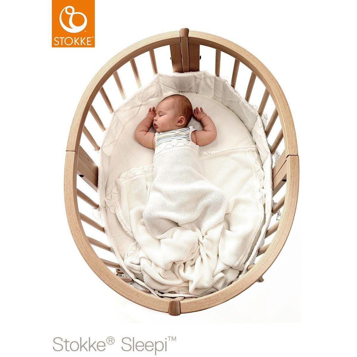Minicuna evolutiva SLEEPI Stokke blanco