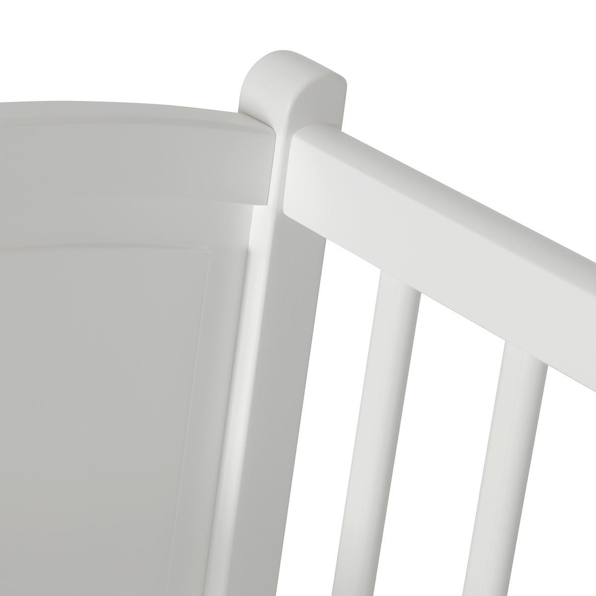 Minicuna mecedora SEASIDE Oliver Furniture blanco