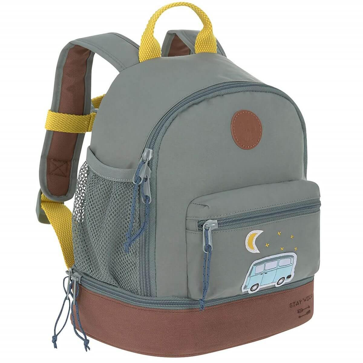 Mochila infantil mini ADVENTURE BUS Laessig