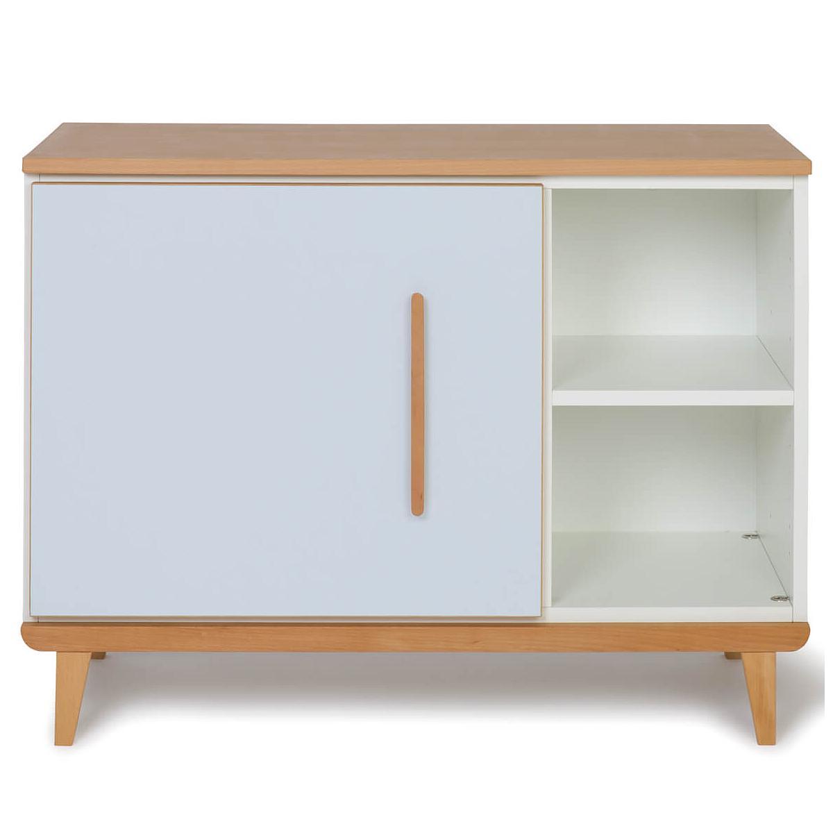 Mueble pequeño 1 puerta NADO By A.K. sky blue