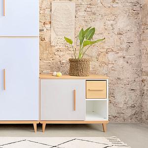 Mueble pequeño 1 puerta NADO slate grey