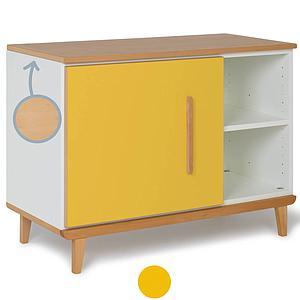 Mueble pequeño 1 puerta NADO sunshine yellow