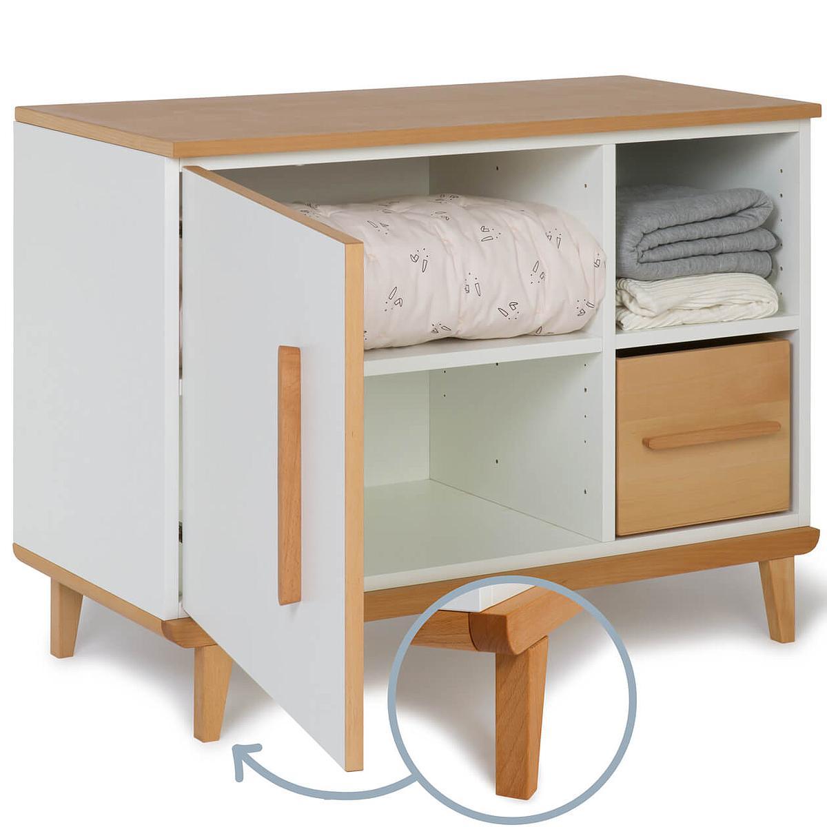 Mueble pequeño 1 puerta NADO white