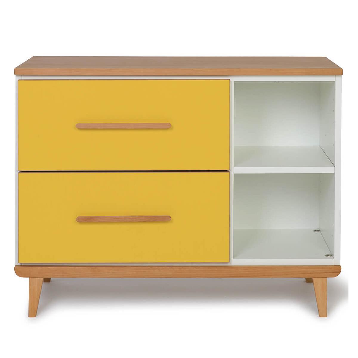 Mueble pequeño 2 cajones NADO By A.K. sunshine yellow