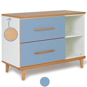 Mueble pequeño 2 cajones NADO capri blue