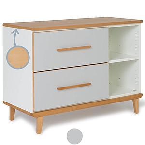 Mueble pequeño 2 cajones NADO manhattan grey