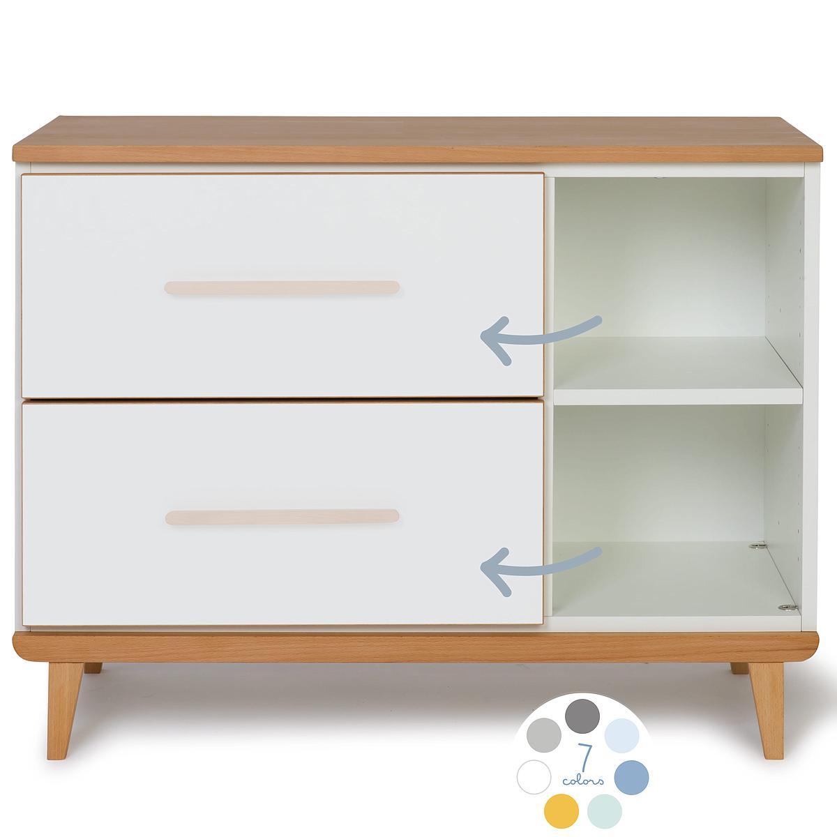 Mueble pequeño 2 cajones sin frontal NADO By A.K.