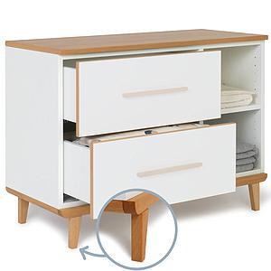 Mueble pequeño 2 cajones sin frontal NADO