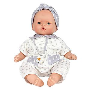 Muñeca bebé 36cm NINS STARS GRIS Barrutoys