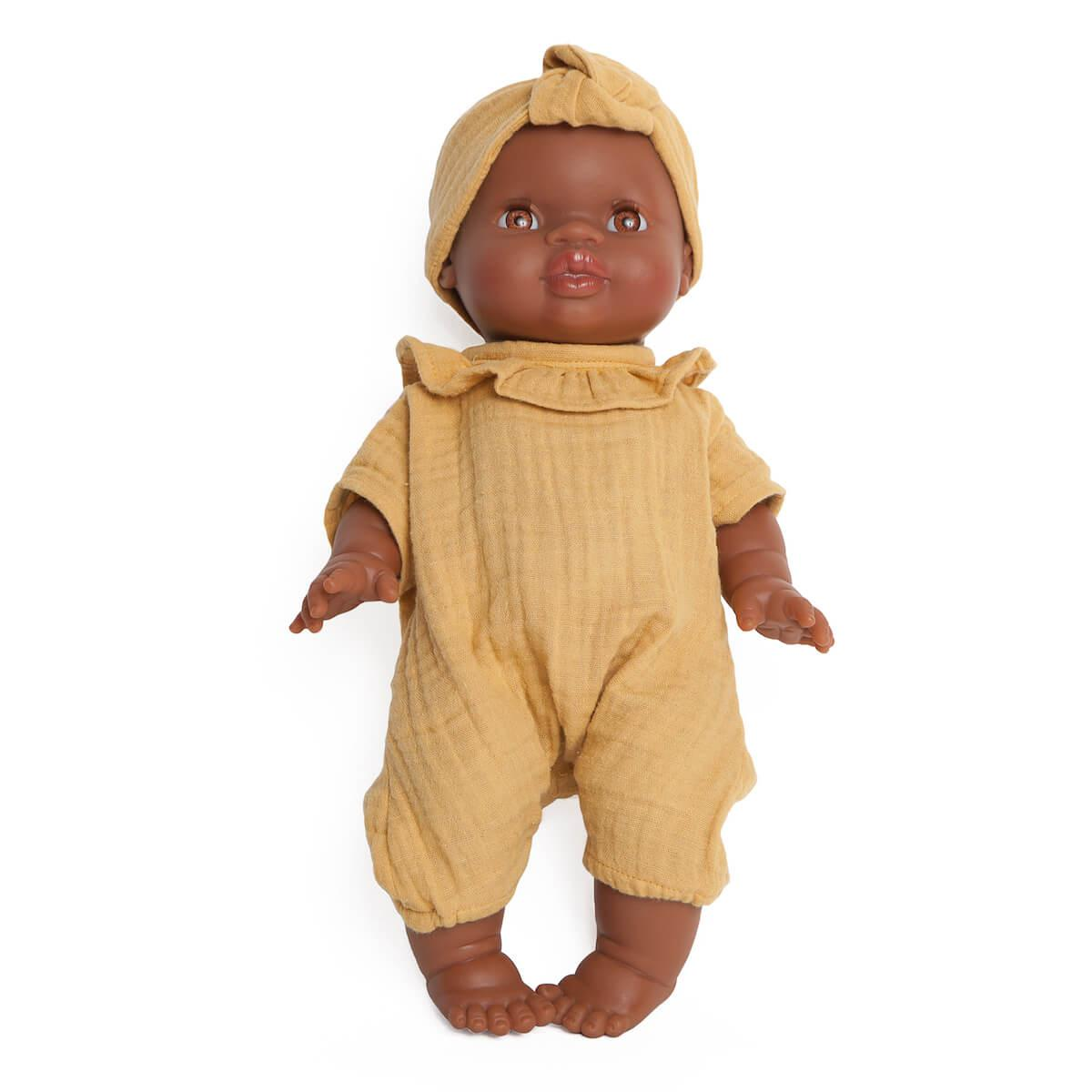 Muñeca Noah BOBBLE mostaza