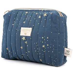 Neceser 18x25cm TRAVEL ELEMENTS Nobodinoz gold stella-night blue