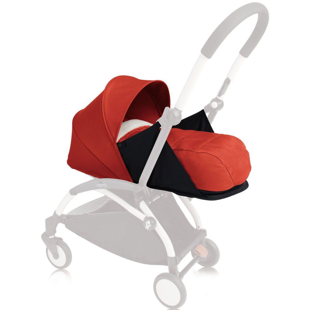 Pack recién nacido YOYO+ 0+ Babyzen rojo