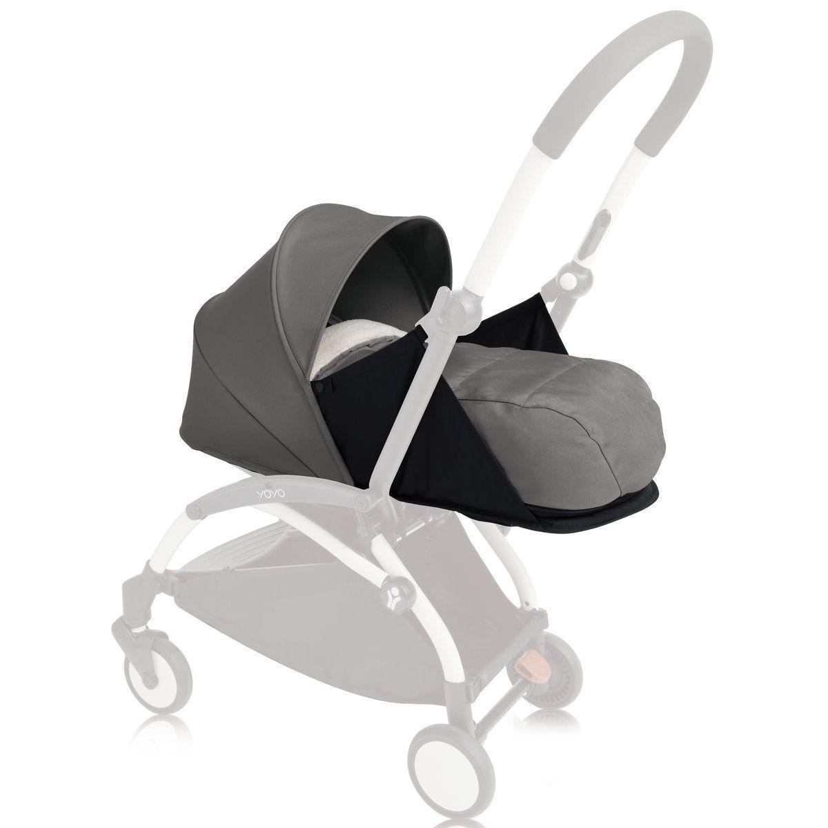 Pack recién nacido YOYO+ 0+ Pack Babyzen gris