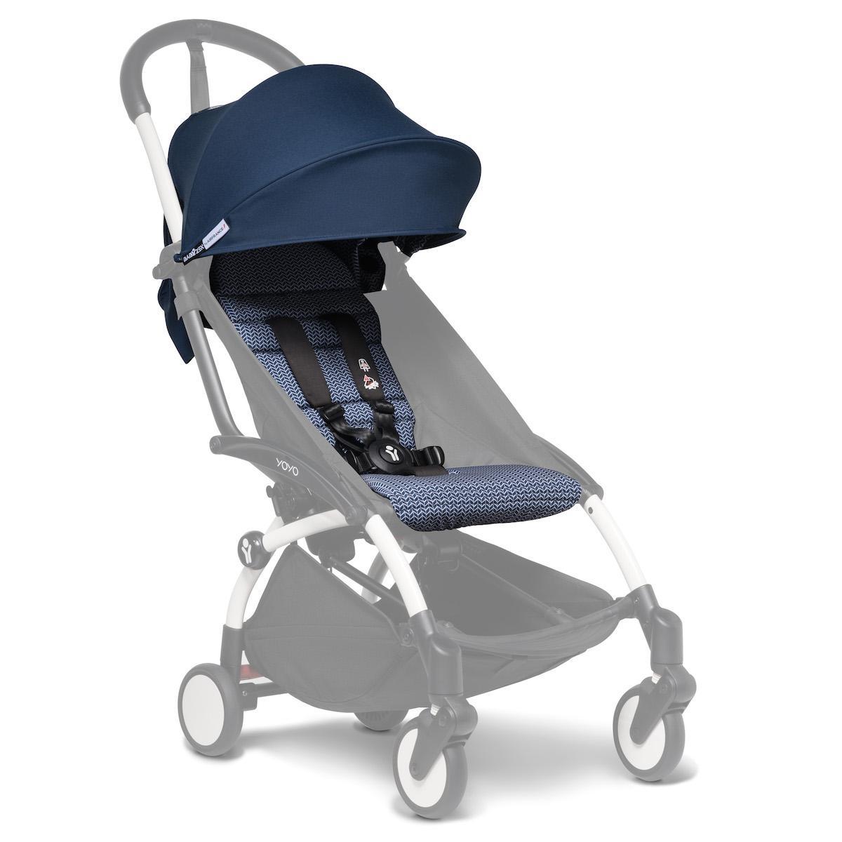 Pack silla paseo YOYO+ 6+ Babyzen Air France bleu