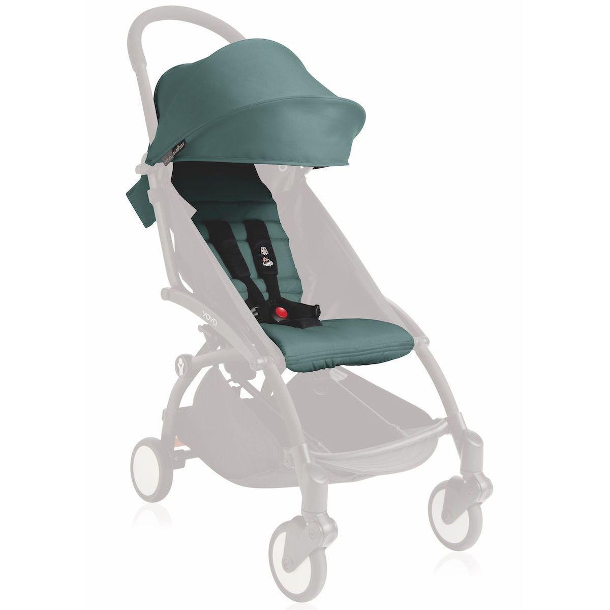 Pack silla paseo YOYO+ 6+ Babyzen aqua