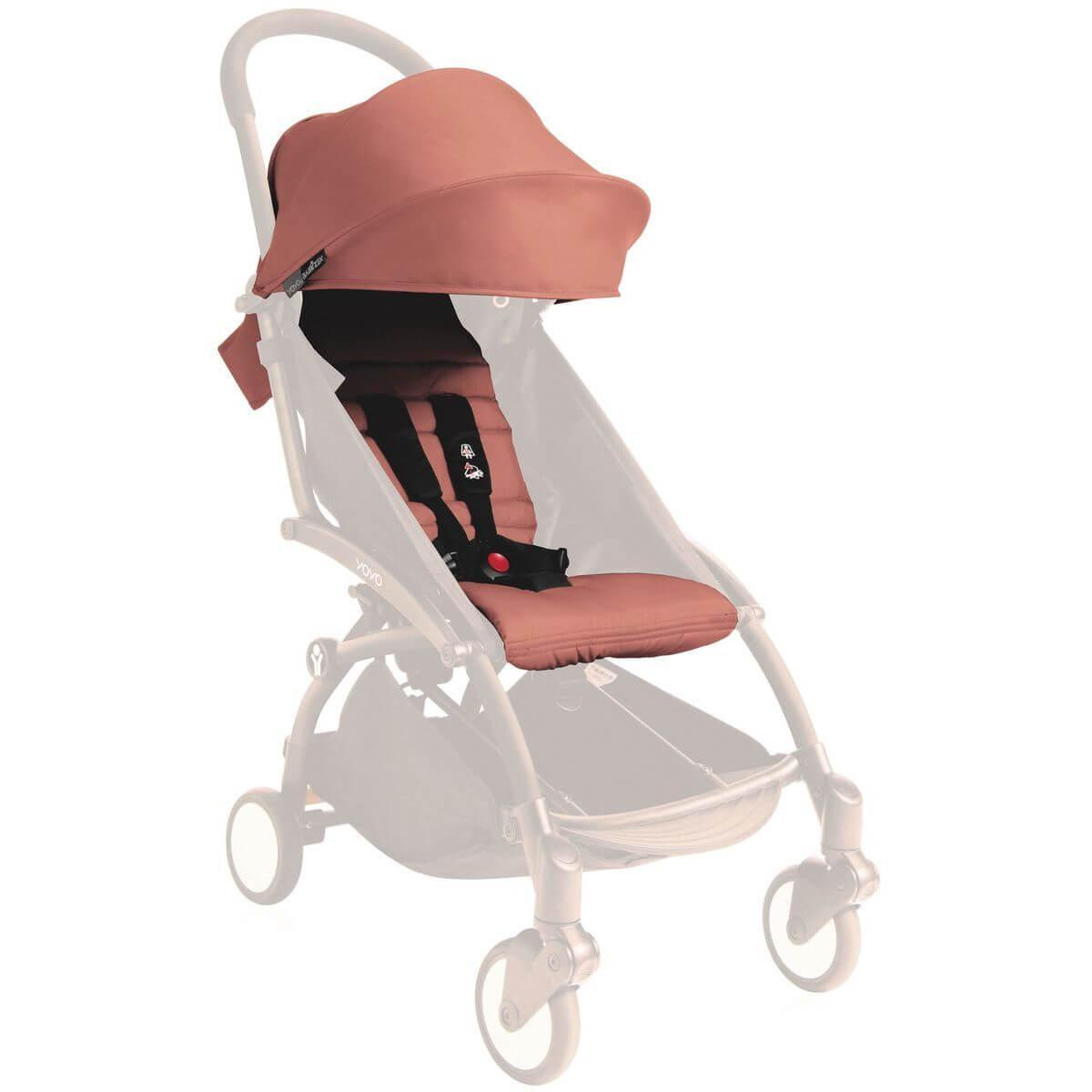 Pack silla paseo YOYO+ 6+ Babyzen ginger