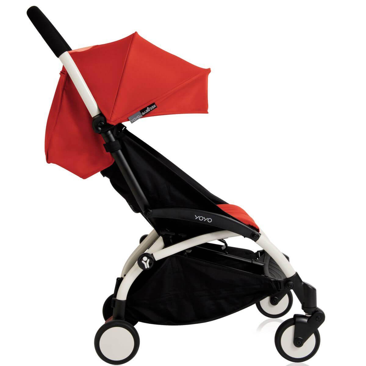 Pack silla paseo YOYO+ 6+ Babyzen rojo