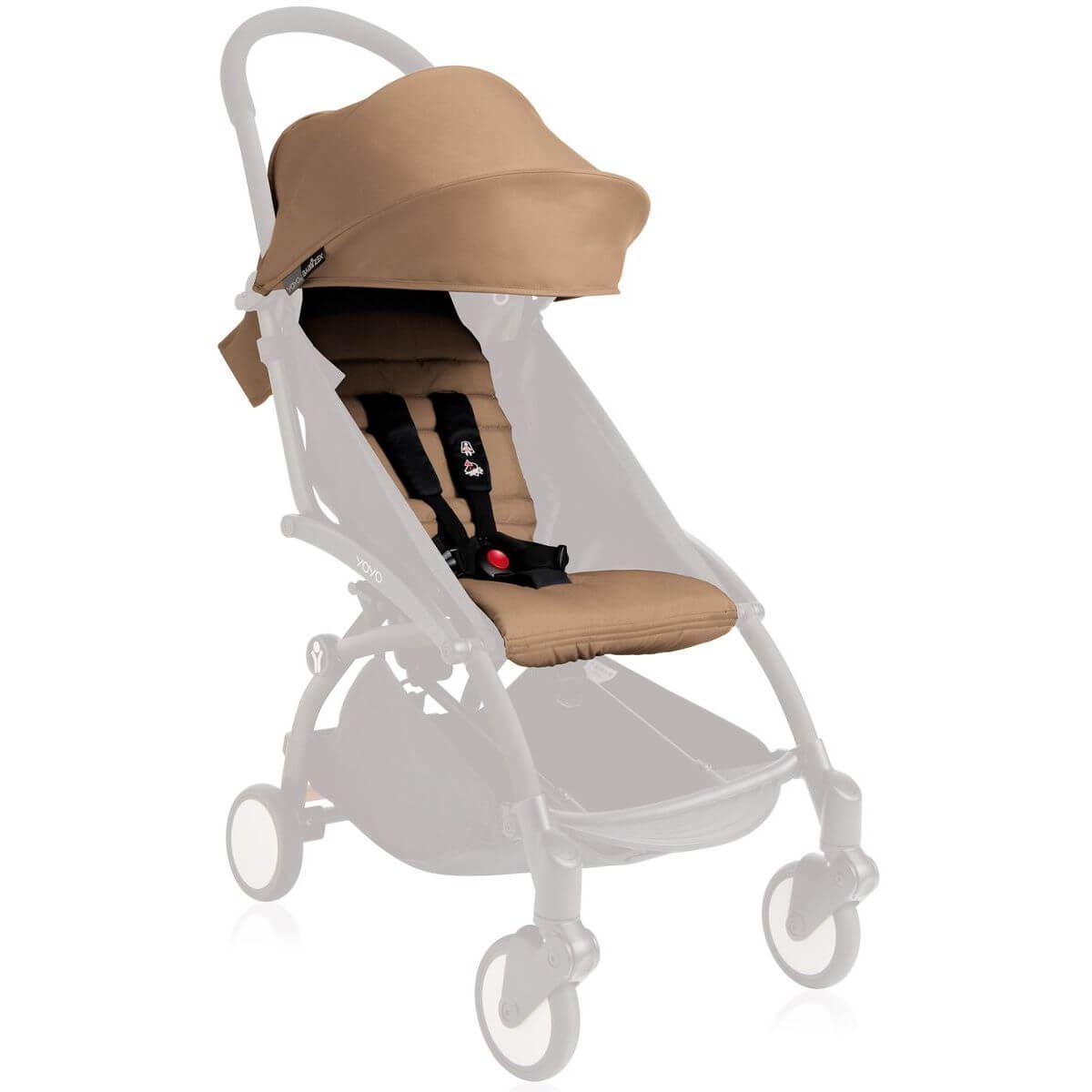 Pack silla paseo YOYO+ 6+ Babyzen taupe
