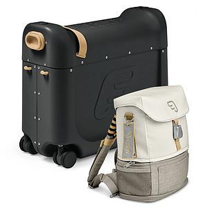 Paquete viaje BedBox-mochila expandible black
