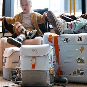 Paquete viaje BedBox-mochila expandible white
