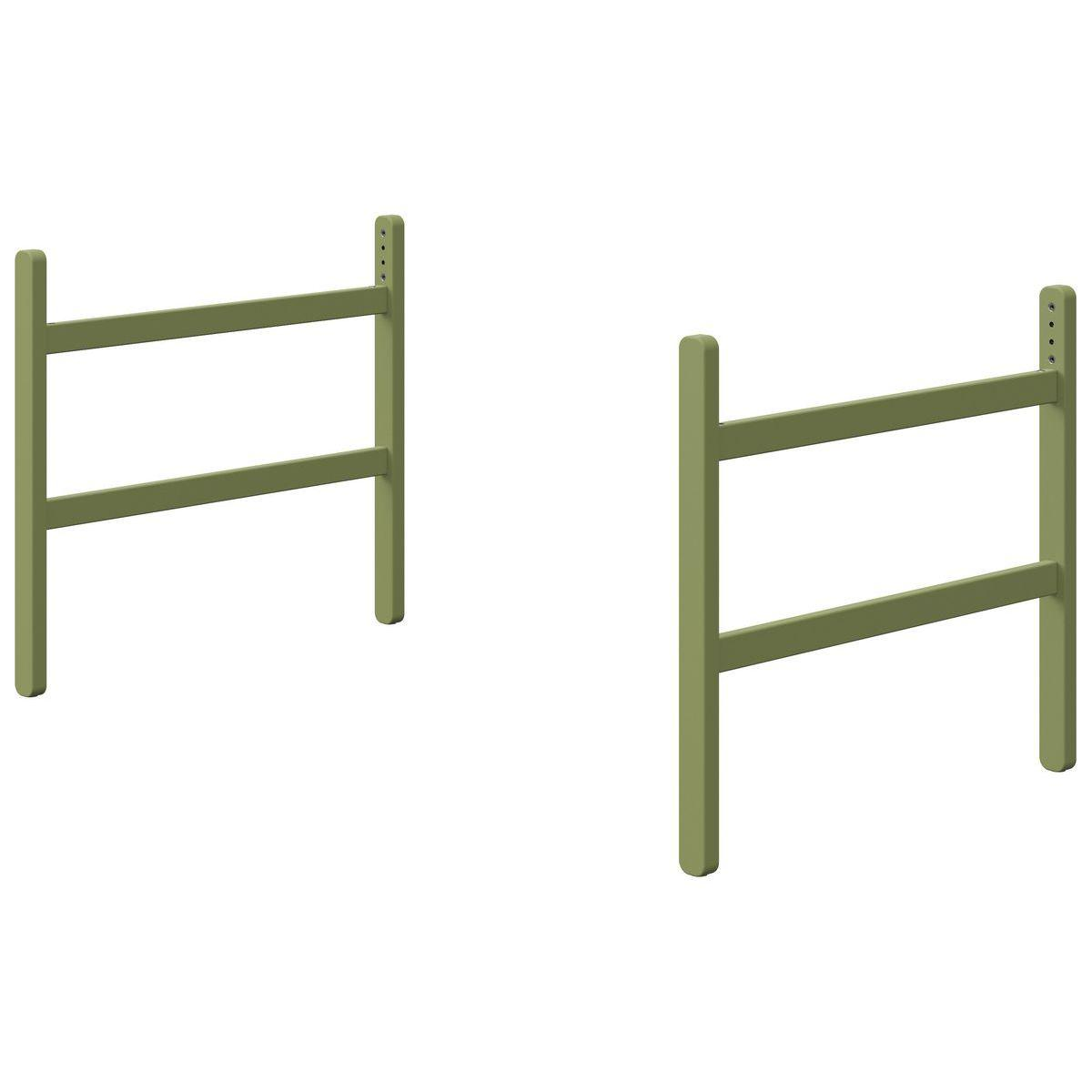 Patas cama media alta POPSICLE Flexa kiwi
