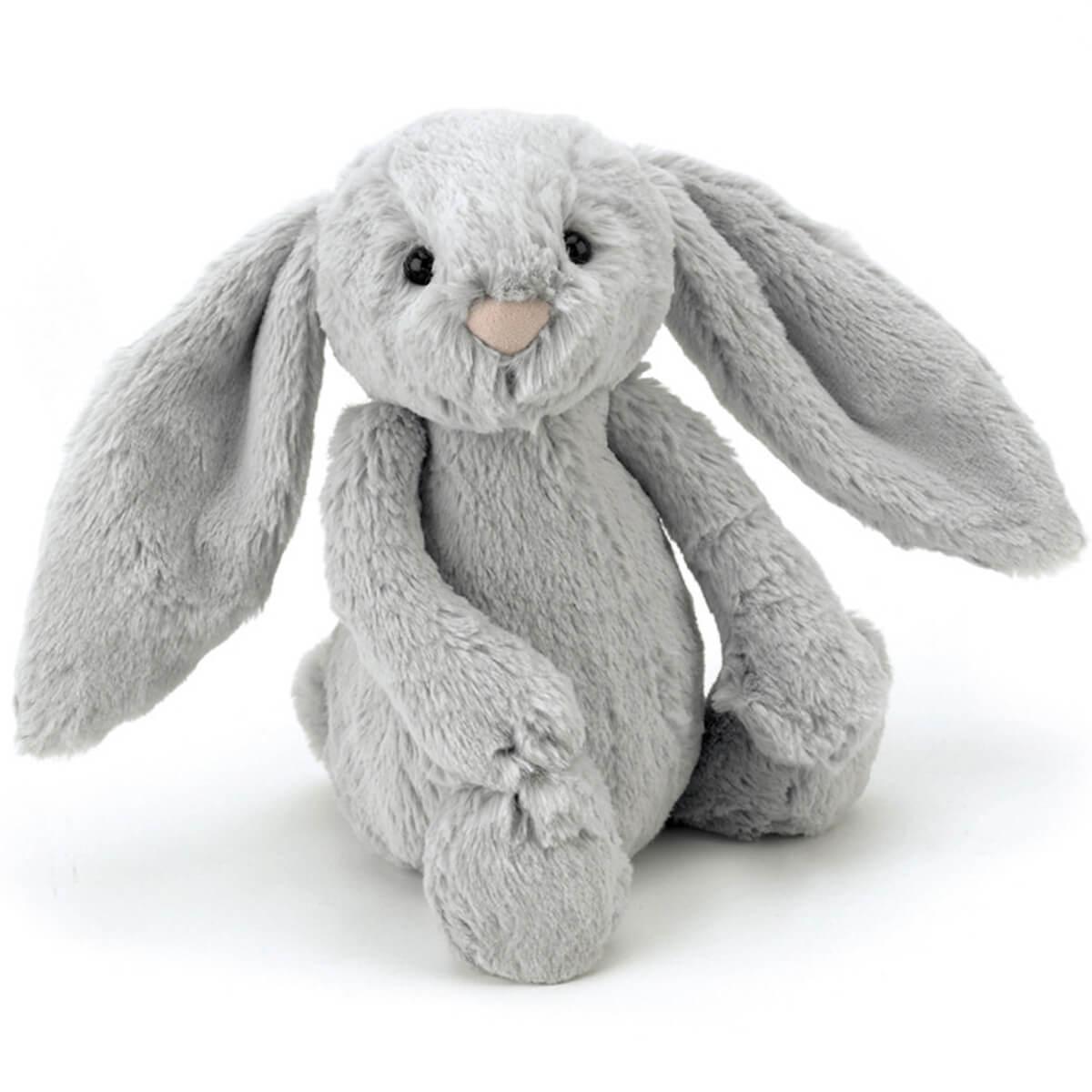 Peluche conejo 31cm BASHFUL Jellycat silver