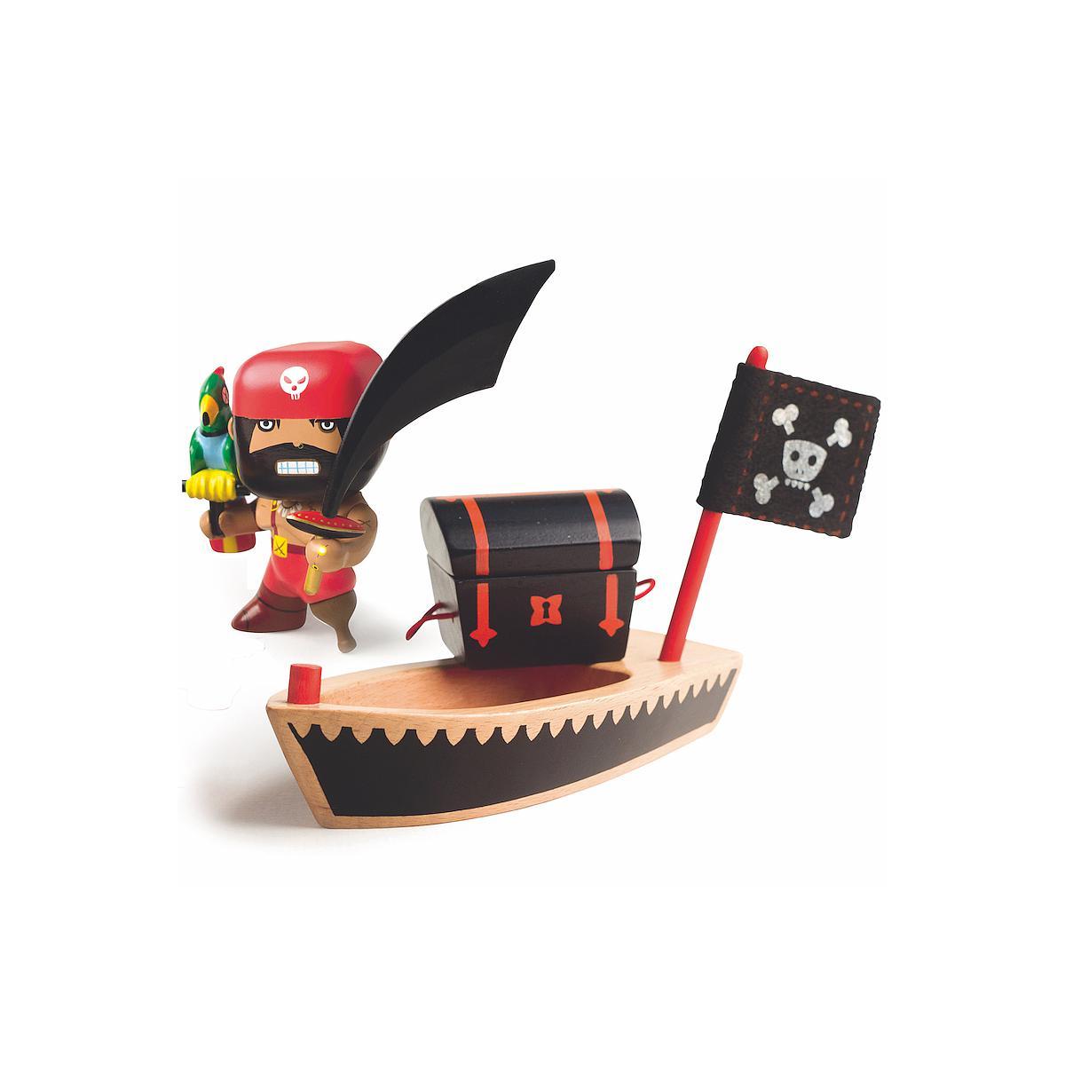 Pirata +4Y ARTY TOYS EL IOCO Djeco