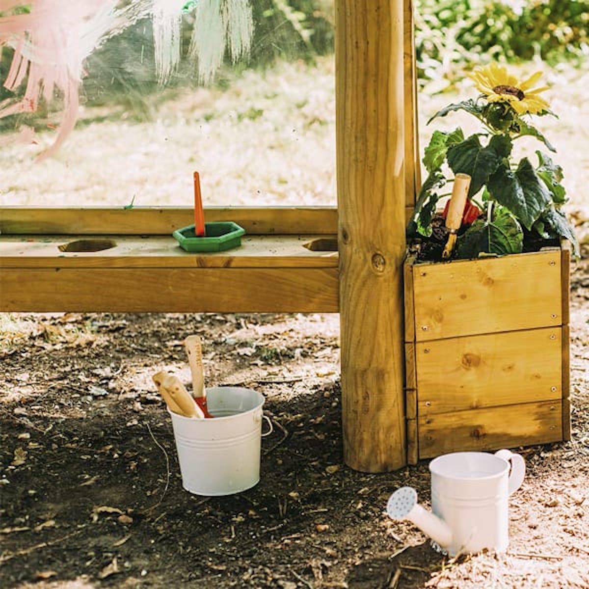 Pizarra madera exterior DISCOVERY Plum