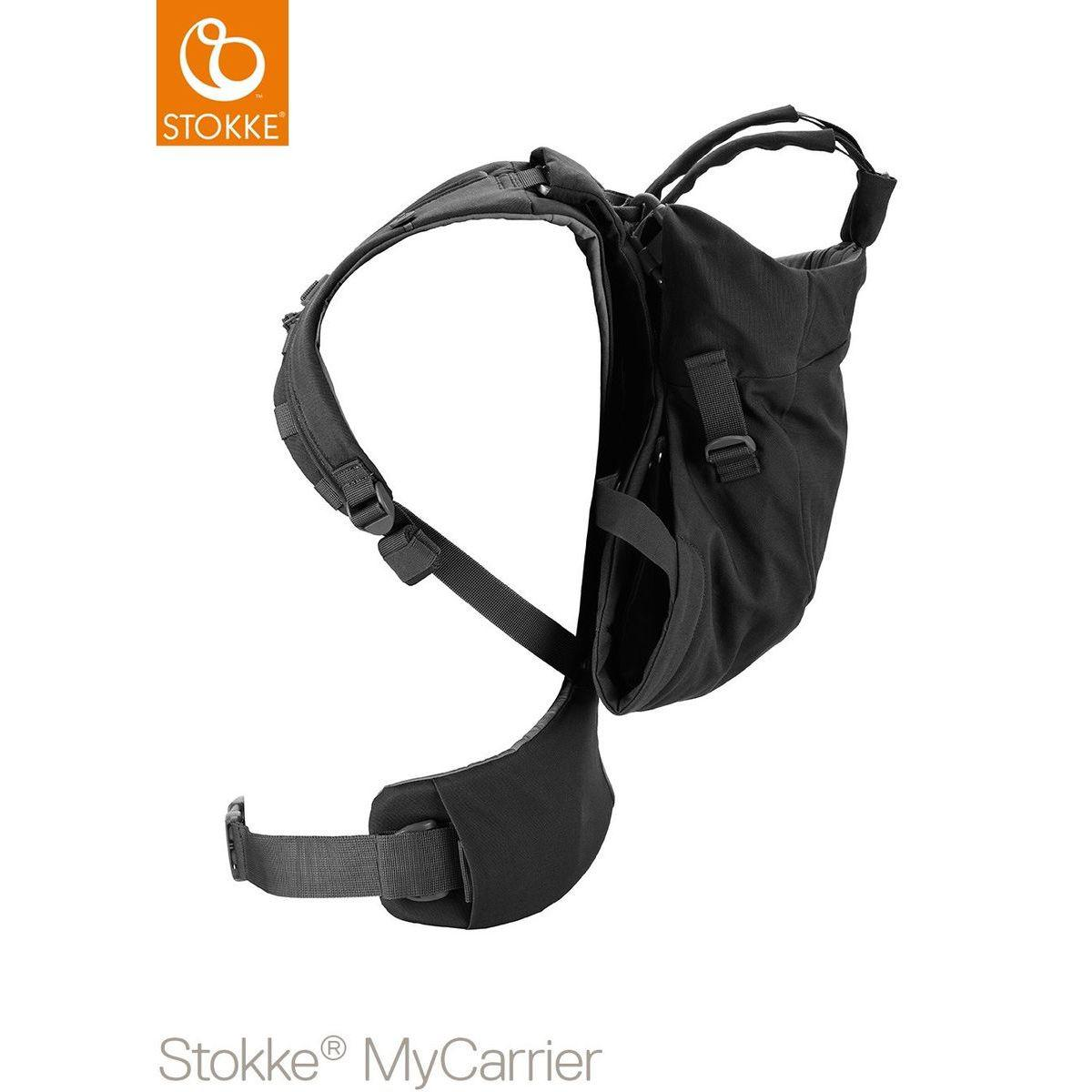 Portabebé frontal-dorsal MYCARRIER Stokke negro